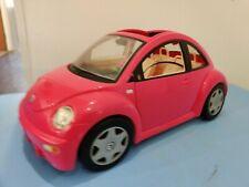 Barbie's Pink VW Beetle Car