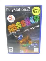 Playstation Ps2 Game Mashed Drive to Survive Pal Tested Complete CIB
