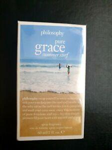 PHILOSOPHY Pure Grace Summer Surf Eau De Toilette Spray 60ml DISCONTINUED