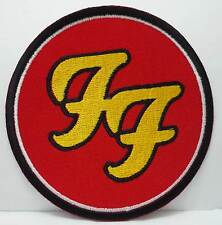 FOO FIGHTERS embroidered patch 2 Dave Grohl Nirvana Soundgarden Pearl Jam Incubu