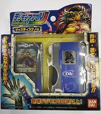 Bandai Digimon Accel Justice Genome Blue BanchouLeomon