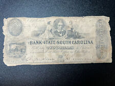 185x Bank of the State of South Carolina, Charleston - $2