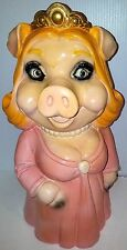 MISS PIGGY (Piggy Bank) VINTAGE 1980 CERAMIC Atoz Productions RARE! WOW!!!