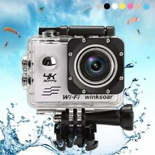 "SJ9000 PRO CAM 2"" 4K SPORT WIFI ACTION CAMERA HD 16MP VIDEOCAMERA SUBACQUEA DV"