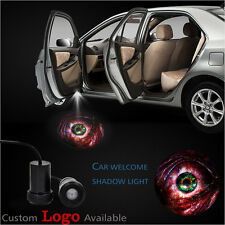 2x Car Door LED Blood Eye Welcome LED Laser Projector Shadow Light For Ford