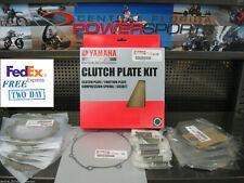 OEM Yamaha 07-09 12-13 YFZ450 Clutch Plate Kit w/Springs Gaskets 5D3-W001G-00-00