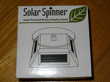 Solar Spinner Solar Powered Rotary Display Stand Fascinations Metal Earth