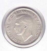 CB497) Australia 1942S San Francisco Mint Florin