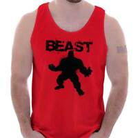 Giant Beast Bodybuilding Gym Workout Fitness Tank Tops T-Shirts Tshirt For Mens
