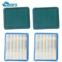 2* Air Filter For Briggs & Stratton 3.5 to 6 HP Quantum Engine Lawn Mower New