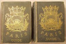 1867 PARIS GUIDE PAR LES PRINCIPAUX ECRIVAINS 2 Volume Set SCIENCE, ART, LA VIE