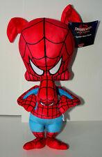 Rare Spider-Man Spider-Ham Marvel Plush Cartoon Pig Figure Toy New Peter Porker