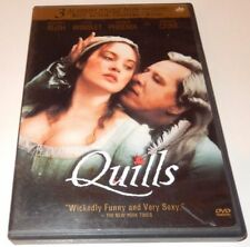 QUILLS  Michael Caine + Kate Winslet NEW DVD Box FREE Post  mmoetwil@hotmail.com