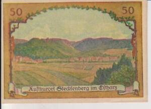 "1921-GERMANY-PAPER MONEY-""NOTGELD"" -50 PFENNING-VERY ATTRACTIVE-15"