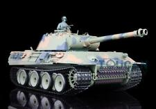 2.4Ghz Henglong 1/16 Scale 6.0 Plastic Ver German Panther Rtr Rc Tank 3819 Model