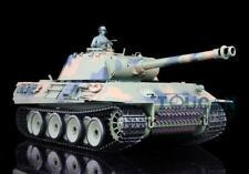US Stock 2.4G HengLong 1/16 6.0 German Panther RTR RC Tank 3819 Plastic Version