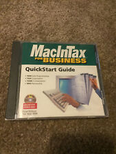 Intuit 1996 MacInTax for Business CD-ROM for Macintosh Power Mac