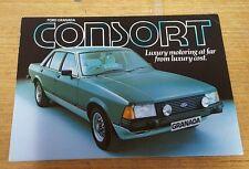 FORD GRANADA CONSORT Car Sales Brochure