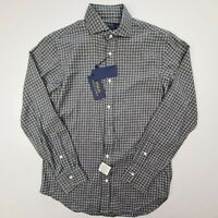 NWT Mens Polo Ralph Lauren Size S Heather Flannel Long Sleeve Button Front Shirt
