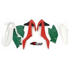 Racetech Plastics kit VINTAGE RED GREEN. KTM XC-W 125 150  . 2017 - 2019