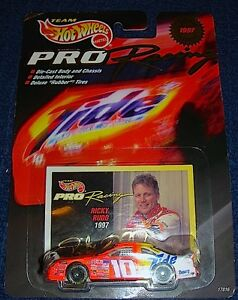 1997 Mattel Hot Wheels Collector 1st Edition Pro Racing Ricky Rudd Die Cast car!