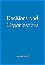 Decisions and Organizations-ExLibrary