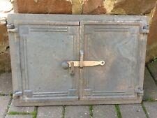 Cast Iron Fire Foor Clay Bread Oven Doors Pizza Stove Rectangular 47x32cm
