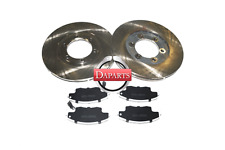 MAZDA B2000 B2200 B2600 Front Brake System Disc Rotors and SEMI METALLIC PADS