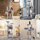 Multiple Cat Tree Condo Tower Corner Furniture Scratch Post Kitty Play House