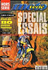 MOTO VERTE HS  1 Spécial Essais Motos Tout Terrain Test Croisière AMV 1998