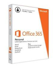 NEW Microsoft Office 365 Personal 1 Year Subscription Key for 1 PC/Mac 1 Tablet
