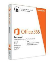 NEW!!! Microsoft Office 365 Personal 1 Year Subscription