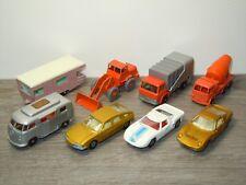 8X Matchbox - Ford GT / VW Camper / Caravan / Foden / Shovel / Miura / *32836