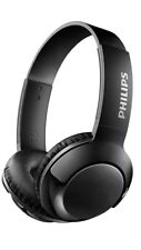 Philips BASS+ On Ear Wireless Bluetooth Headphones with Mic - Black (SHB075BK/27