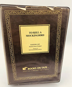 To Kill a Mockingbird Harper Lee 8 Cass Tapes Unabridged Special Library Edition