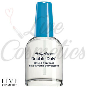 Sally Hansen DOUBLE DUTY Base and Top Coat Nail Polish 13.3ml