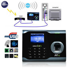 UPS Ship! Zksoftware U160 Biometric WIFI Fingerprint Time Attendance Time Q5