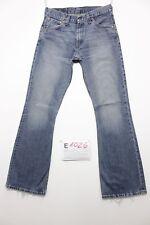 Levi's 516 flare boyfriend bootcut jeans usato (Cod.E1026) Tg 45 W31 L34