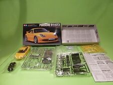 KIT (unbuilt) 229 TAMIYA PORSCHE 911 GT3 - YELLOW 1:24 - GOOD IN BOX