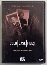 a&e COLD CASE FILES the most infamous cases DVD
