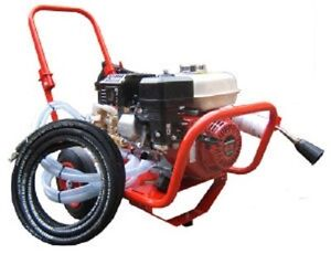 6.5HP Honda GX200 Pressure Washer 160 Bar 2300PSI 14LTRS/MIN With 2:1 Gearbox