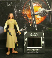 1997 Kenner Star Wars POTF 2 Princess Leia (Endor) Loose & Complete Figure