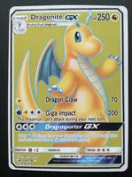 Pokemon card Dragonite GX 67/70 Full Art Stage 2 RARE Dragon Mint PROXY CARD