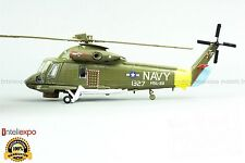 Kaman SH-2F Seasprite 1982 USA Navy Military Helicopter Diecast Model 1/72 No 52