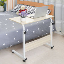 Adjustable Notebook Desk Portable Laptop Table Trolley Sofa Bed Tray