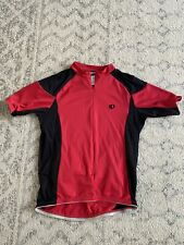 Men's Pearl Izumi Select UltraSensor Cycling Jersey Black Red Semi-Fitted Large