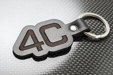 Alfa Romeo 4C Cuero KEYRING LLAVERO SCHLÜSSELRING Porte-clés Coupe Araña Tbi