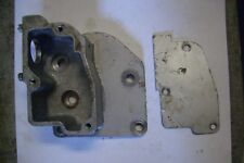 Austin Healey BN1 overdrive solenoid bracket/side cover and cover plate