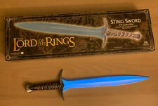 Lord Of The Rings Hobbit Sting sword Prop Master Replicas Fx sound light Lotr