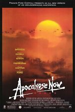 APOCALYPSE NOW MOVIE POSTER 1 Sided ORIGINAL 27x40 REDUX MARLON BRANDO